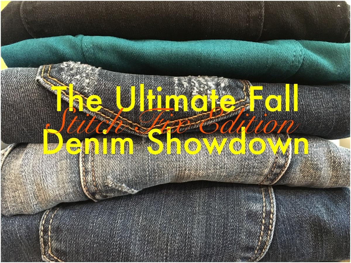 The Ultimate Fall Denim Showdown - Stitch Fix Edition